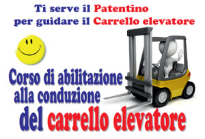 Patentino Carrellisti